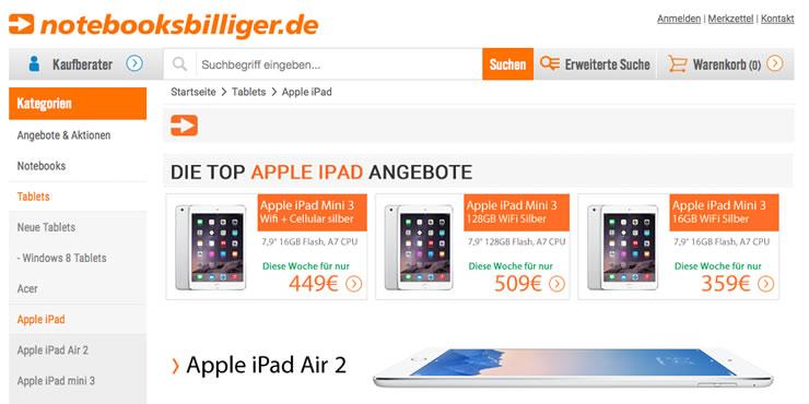 Sparen Sie beim Kauf eines Computers mit einem Gutschein von notebooksbilliger.de